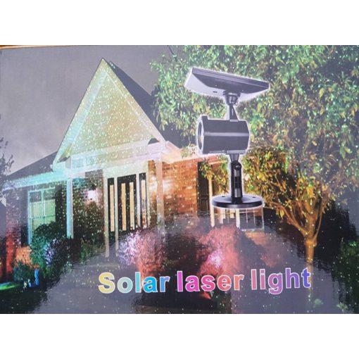 Solar lézerfény - Csodálatos csillagfény könnyedén, külső áramforrás nélkül!