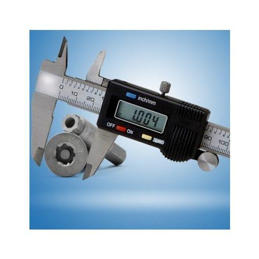 Flink digitális tolómérő - Könnyedén leolvasható folyadékkristályos kijelző!