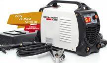 Royal Kraft inverteres hegesztőgép (IGBT-250A) - Digitális kijelzővel!