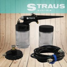 Straus 5db-os Airbrush szett - Precíz festési munkákhoz vagy díszítésekhez!
