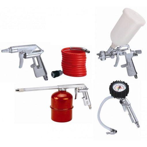 Neo levegős festékszóró készlet 5 részes - Percek alatt végezhetsz bármilyen munkálattal!