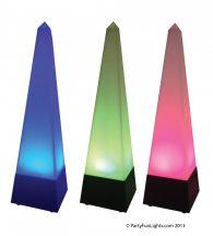 Színváltós piramis hangulatlámpa