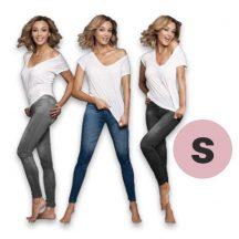 3 db Slim'n Lift Jeans nadrág csomag (S)