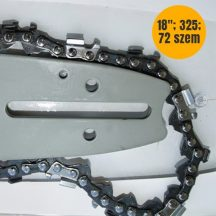 """Láncvezető + 2 db lánc láncfűrészhez (18"""" 325 72 szem) (5#)"""
