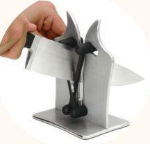 Asztali Késélező - Biztonságos, csökkenti a vágás esélyét!