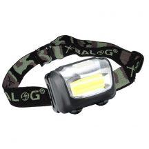 18 LED-es Extra erős LED fejlámpa