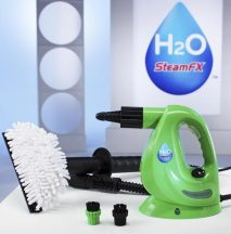 H2O SteamFX Gőztisztító Készlet - Pillanatok alatt tisztára varázsolhatod a ruhákat, kárpitokat egyéb felületeket!