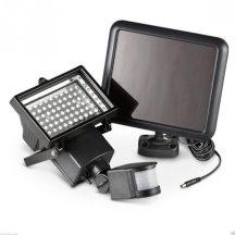 60 LED-es napelemes mozgásérzékelős reflektor