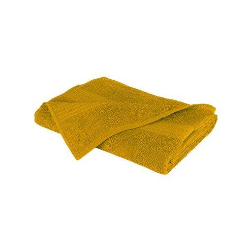Óriás fürdőlepedő 90x180cm (Mustársárga)