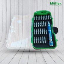 Möller precíziós csavarhúzó készlet(MR70175)