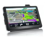 Nagy kijelzős GPS Navigációs készülék - GPS, Videó lejátszó és FM transzmitter egyben!