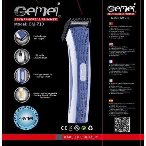Gemei haj és szakállvágó GM-710
