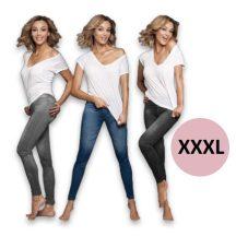 3 db Slim'n Lift Jeans nadrág csomag (XXXL)