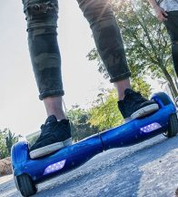 E-Move Mini Segway, Kék - Elektromos járgány két keréken, akár 20 km-es hatótávolsággal!