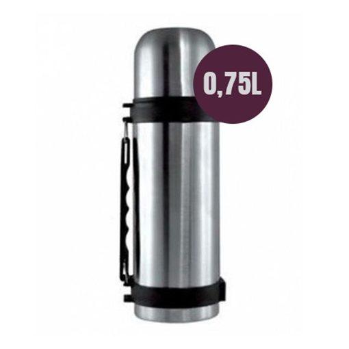 Acél termosz 0,75L