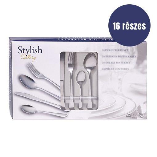 16 részes Stylish evőeszköz