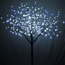 Sakura Fa 90LED Fehér+Kék
