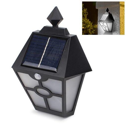 Ever Brite Solar Mozgásérzékelő Napelemes kerti lámpa - Garantáltan jól mutat a házfalon vagy a kerítésen!
