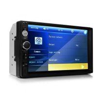 Távirányítós Mp5 Autórádió, Nagy, Érintőkijelzős LCD monitorral - 7colos, 2dines, Bluetooth-os!