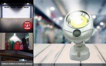 360 Fokban forgatható Mozgásérzékelős LED Lámpa - Szuper erős, kül és beltérre!