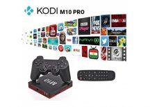 Kodi M10 PRO Android TV BOX + Game BOX 2in1!