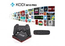 Kodi M10 PRO Android TV BOX + Game BOX 2in1!
