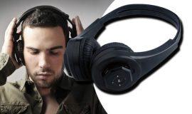 Vezeték nélküli fejhallgató - MicroSD foglalat, MP3 lejátszás!