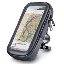 Vízálló Kerékpáros, -motoros Telefon és GPS tartó - Többféle méretű készülékhez!