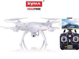Syma X5SW Livecam Quadrocopter - iOS és Android kompatibilis!