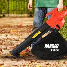 RANGER U.S.A. Lombszívó-Fúvó gyűjtőzsákkal - Kiváló megoldás a ház körüli munkálatokhoz!
