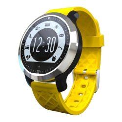 Pulzusmérős sportóra, Sárga - Rengeteg nagyon hasznos funkcióval!
