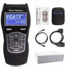OBD2 Autódiagnosztika műszer, Multiprotokoll hibakódolvasó - Vgate MaxiScan VS890!