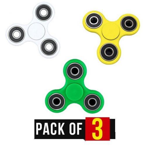 3 db Fidget Spinner Pörgettyű, Vegyes színben