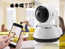 WIFI IP KAMERA - Neten keresztül vezérelheted, telefonodról is nézheted!