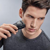 Braun Series 3 310TS tölthető elektromos borotva -FEKETE- Ajándék utazó tokkal!