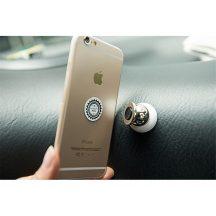 Univerzális mágneses autós telefontartó bármilyen telefonhoz - 360 fokban Forgatható!