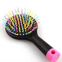 Rainbow mágikus hajkefe, szivárvány fésű - Természetes hatást biztosít!