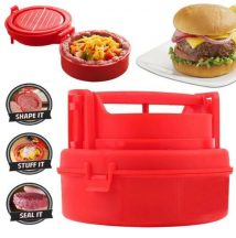 Töltött hamburgerhús készítő prés - Készíts egyedit és finomat!