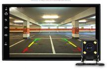 MAGYAR NYELVŰ Androidos 2 Dines, 7 Colos Multimédia rendszer Autódba - GPS kerettel!