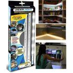 2 db Mozgásérzékelős Vezeték nélküli LED sor - Ágy alá, szekrénybe, kamrába, szobákba!
