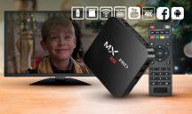 MX9 4K Android TV BOX Tűéles képátvitellel - Netezz kényelmesen a TV-den!