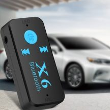 Bluetooth AUX adapter - SD kártya foglalattal!