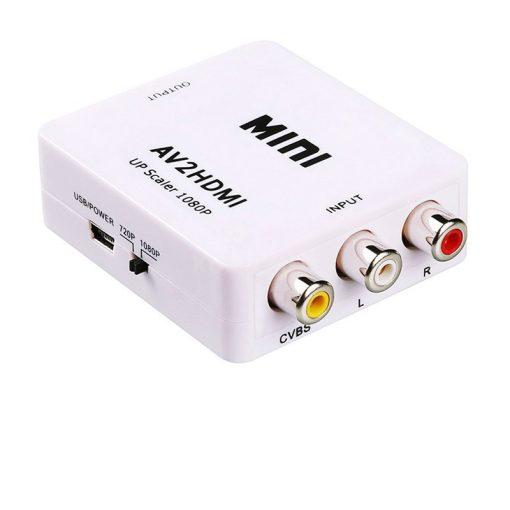 RCA --> HDMI Átalakító
