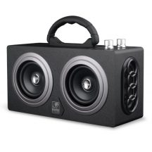 AlphaOne Bluetooth Hangláda, Fekete - Vezeték nélküli Nagy teljesítményű hordozható Bluetooth hangszóró!