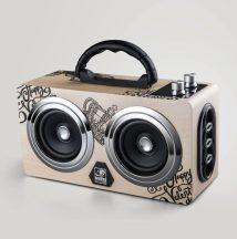 AlphaOne Bluetooth Hangláda, Színes - Vezeték nélküli Nagy teljesítményű hordozható Bluetooth hangszóró!