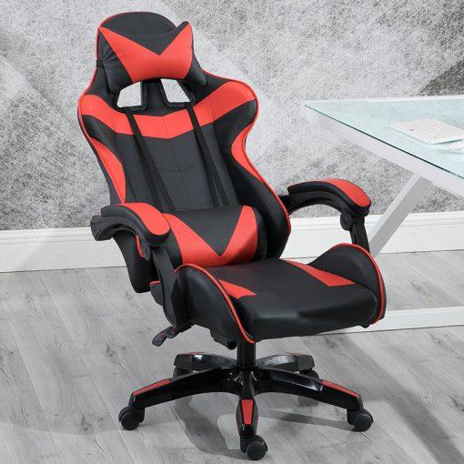 Gamer szék Racing Pro X, Piros-Fekete - Élvezd ezt a kényelmes széket a következő ezer órában!