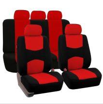 Univerzális Autós üléshuzat, Piros