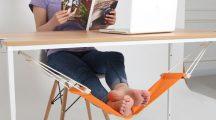Kényelmes asztali lábtartó