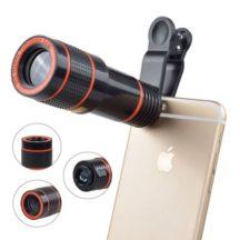 Telefon Zoom objektív - Csiptethető optika okostelefonhoz!