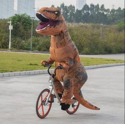 Cosplay T-Rex Jelmez